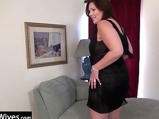 Usawives See Gorgeous Dylan Loving Her Time Alone