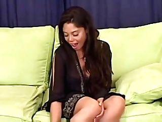 Hot Latina Mummy Takes That Big Chisel Up Her Butthole