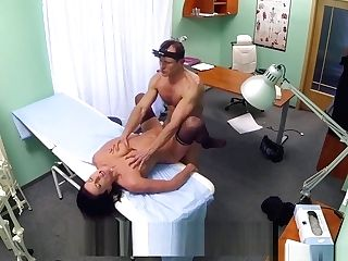 Medic Checks Out Sexy Patient Scrupulously