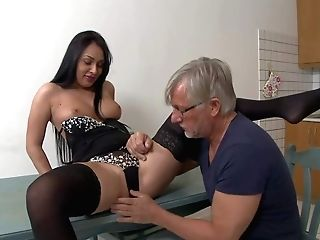 Christoph Clark's Fresh Gal Is Sexy Black Haired Lady Rosalina
