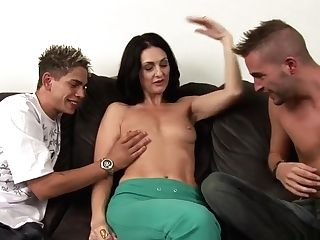 Crazy Sex Industry Star Lake Russell In Horny Threesome, Matures Pornography Scene