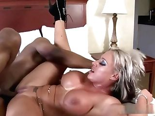 Brooke Jameson Gets Pounded With A Black Man Rod