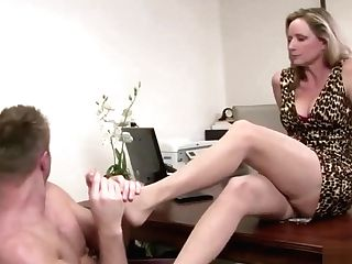 Blonde Cougar Wants A Delicious Dick
