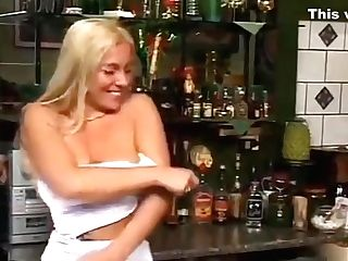 Sultry Blonde Mummy With Ideal Big Tits Gets Dual Drilled