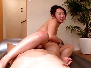 Hot Cougar With Big Tits Provides Warm Asian Oral Pleasure