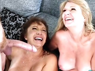 Granny Cocksluts Share Ginormous Lengthy Boner