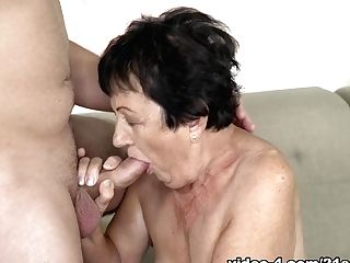 Hettie & Rob In Granny Diaries - 21sextreme