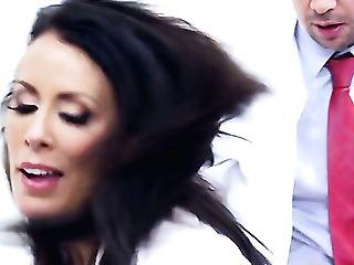 Keiran Lee Is Ready To Make Sexy Reagan Foxxs Every Orgy Desire Come True