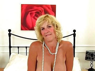 Elderly Ladies Like To Put On Erotic Undergarments And Be Kinky, In Front Of The Camera