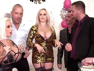 Sophie Is A Big-chested Bitch Who Is Well Known For Amazing Orgies In Her Room