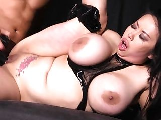 Curvy Asian Mummy Tigerr Benson - The Dark Room Sadism & Masochism