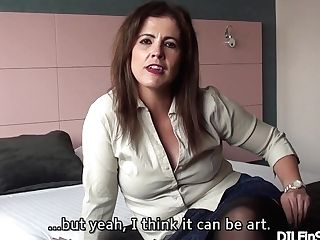 Montse Swapper: Interview Before Fucking