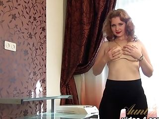 Best Adult Movie Star In Incredible Big Tits, Ginger-haired Fuck-fest Scene