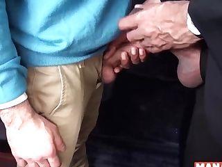 Lmanalized Stud Mickey Carpathio Fucks His Chief Interracial