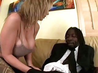 Matures Sara Jay Fucks A Black Preacher