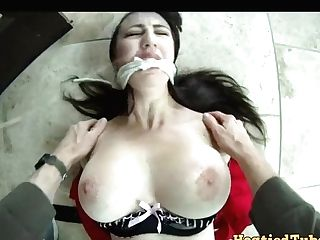 Point Of View Restraint Bondage Fixation And Rough Orgy