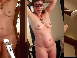 Totaly Naked Little Sunshine Mummy  Magic Wand Orgasm Trio Cams