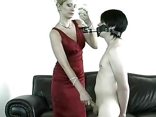 Mistress Gives Submissive A Challenge.