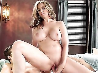 Julia Ann Is Totally Blessed To Be Mouth Fucked By Xander Corvus Over And Over Again