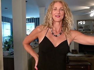 Long Legged And Tall Blonde With Sunburn Lines Zoe Marks Plays With Her Nasty Cootchie