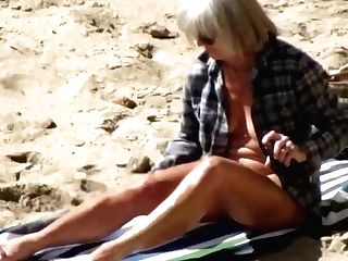 Spy Beach Matures Big-titted Mummies And Saggy Grannys Compilation