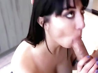 Hot Cougar Step Mom Predominance Fuck After Catching Step Sonnie