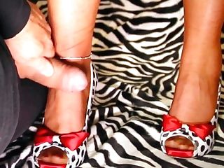 Cum-shot On Rht Stockings