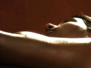 Bathing Bollywood Dark-haired Beauty Fully Nude