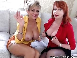 Joi From Big-boobed Brit Matures Lady Sonia And Crimson Xxx
