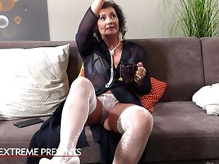 The Madame And The Maid Hot Girl-on-girl Fuck-a-thon