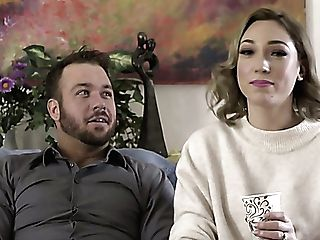 Lovely Pornography Actress Lily Labeau In Horny Backstage Xxx Interview