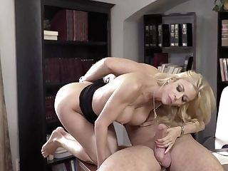 Blonde Alexis Fawx With Enormous Hooters Having Voluptuous Fucky-fucky