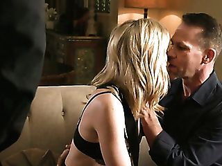 Blidfolded Wifey Mona Wales Gives Bj And Gets Cruelly Fucked Rear End Style